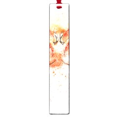 Flamingo Absract Large Book Marks