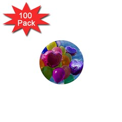Balloons 1  Mini Magnets (100 pack)