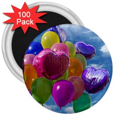 Balloons 3  Magnets (100 pack)