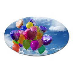 Balloons Oval Magnet