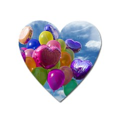 Balloons Heart Magnet