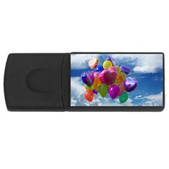 Balloons USB Flash Drive Rectangular (1 GB)