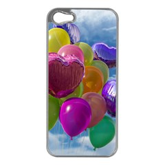 Balloons Apple iPhone 5 Case (Silver)