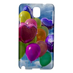 Balloons Samsung Galaxy Note 3 N9005 Hardshell Case