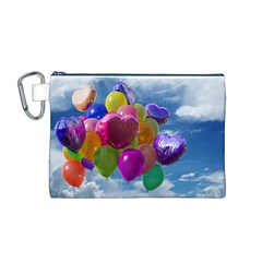 Balloons Canvas Cosmetic Bag (M)