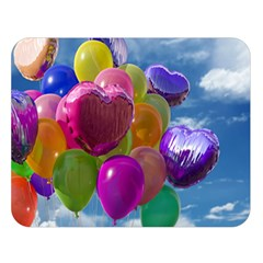 Balloons Double Sided Flano Blanket (Large)