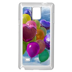Balloons Samsung Galaxy Note 4 Case (White)