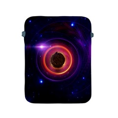 The Little Astronaut on a Tiny Fractal Planet Apple iPad 2/3/4 Protective Soft Cases