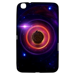 The Little Astronaut on a Tiny Fractal Planet Samsung Galaxy Tab 3 (8 ) T3100 Hardshell Case