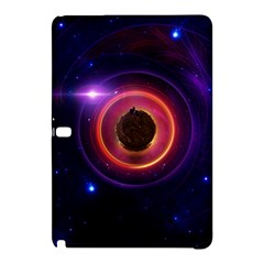 The Little Astronaut on a Tiny Fractal Planet Samsung Galaxy Tab Pro 10.1 Hardshell Case