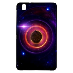 The Little Astronaut on a Tiny Fractal Planet Samsung Galaxy Tab Pro 8.4 Hardshell Case