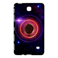 The Little Astronaut on a Tiny Fractal Planet Samsung Galaxy Tab 4 (7 ) Hardshell Case