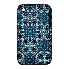 Boho Blue Fancy Tile Pattern Iphone 3s/3gs