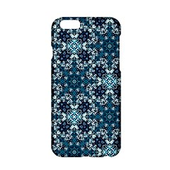 Boho Blue Fancy Tile Pattern Apple iPhone 6/6S Hardshell Case
