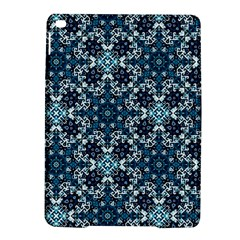 Boho Blue Fancy Tile Pattern Ipad Air 2 Hardshell Cases
