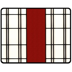 SHOJI - RED Fleece Blanket (Medium)