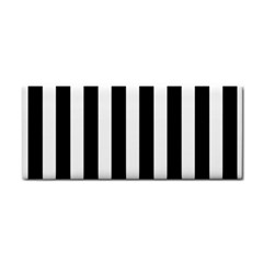 Classic Black and White Football Soccer Referee Stripes Cosmetic Storage Cases