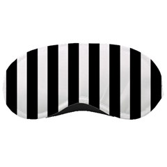 Classic Black and White Football Soccer Referee Stripes Sleeping Masks