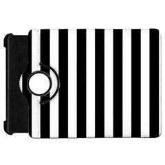 Classic Black and White Football Soccer Referee Stripes Kindle Fire HD 7