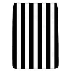 Classic Black and White Football Soccer Referee Stripes Flap Covers (L)