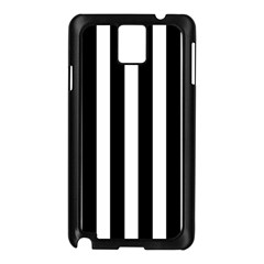 Classic Black and White Football Soccer Referee Stripes Samsung Galaxy Note 3 N9005 Case (Black)