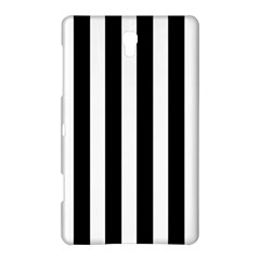 Classic Black and White Football Soccer Referee Stripes Samsung Galaxy Tab S (8.4 ) Hardshell Case
