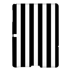 Classic Black and White Football Soccer Referee Stripes Samsung Galaxy Tab S (10.5 ) Hardshell Case