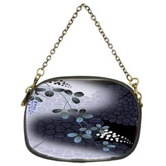 Abstract Black And Gray Tree Chain Purses (Two Sides)