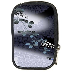Abstract Black And Gray Tree Compact Camera Cases