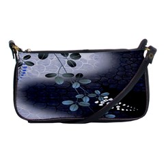 Abstract Black And Gray Tree Shoulder Clutch Bags