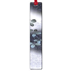 Abstract Black And Gray Tree Large Book Marks