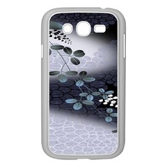 Abstract Black And Gray Tree Samsung Galaxy Grand DUOS I9082 Case (White)