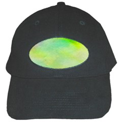 Abstract Yellow Green Oil Black Cap