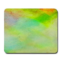 Abstract Yellow Green Oil Large Mousepads