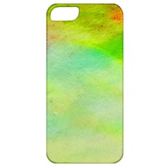 Abstract Yellow Green Oil Apple iPhone 5 Classic Hardshell Case