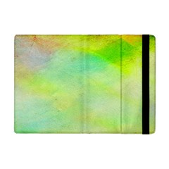 Abstract Yellow Green Oil Apple Ipad Mini Flip Case