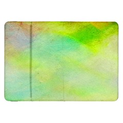 Abstract Yellow Green Oil Samsung Galaxy Tab 8 9  P7300 Flip Case