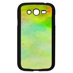 Abstract Yellow Green Oil Samsung Galaxy Grand Duos I9082 Case (black)