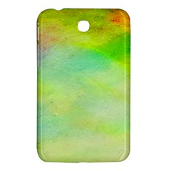Abstract Yellow Green Oil Samsung Galaxy Tab 3 (7 ) P3200 Hardshell Case