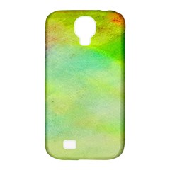 Abstract Yellow Green Oil Samsung Galaxy S4 Classic Hardshell Case (PC+Silicone)