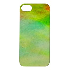 Abstract Yellow Green Oil Apple Iphone 5s/ Se Hardshell Case