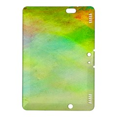 Abstract Yellow Green Oil Kindle Fire Hdx 8 9  Hardshell Case