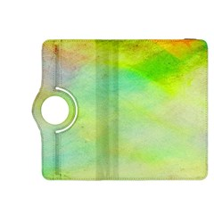 Abstract Yellow Green Oil Kindle Fire Hdx 8 9  Flip 360 Case