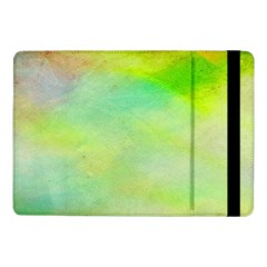 Abstract Yellow Green Oil Samsung Galaxy Tab Pro 10.1  Flip Case