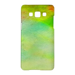 Abstract Yellow Green Oil Samsung Galaxy A5 Hardshell Case