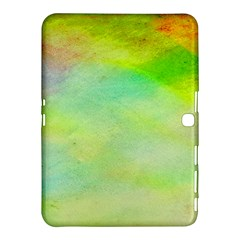 Abstract Yellow Green Oil Samsung Galaxy Tab 4 (10.1 ) Hardshell Case