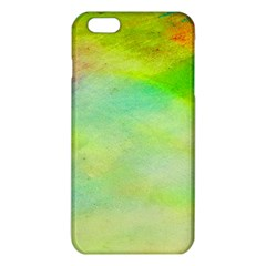 Abstract Yellow Green Oil iPhone 6 Plus/6S Plus TPU Case