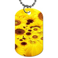 Beautiful Sunflowers Dog Tag (two Sides)