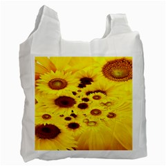 Beautiful Sunflowers Recycle Bag (Two Side)
