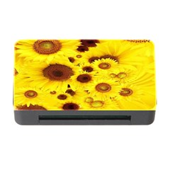 Beautiful Sunflowers Memory Card Reader with CF